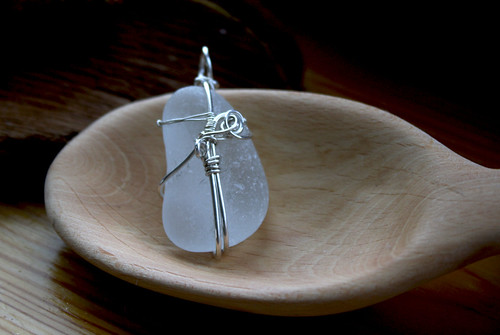 Neat-O Wire Wrapped Briolette Pendant - Jewelry Making Beads, Wire