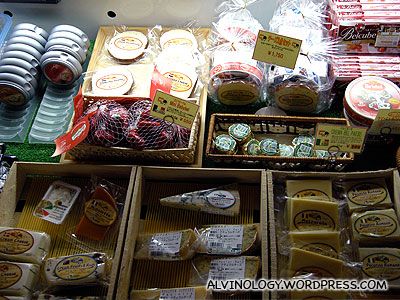 Wide variety of cheese from around the world