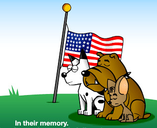 DogPile Memorial Day Logo