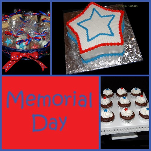 Memorial Day 2009 Simply Sweets Collage