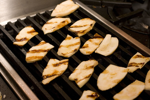 Grilling King Oyster Mushrooms