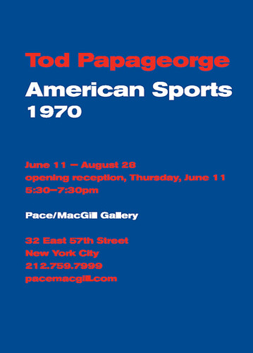Papageorge, American Sports, Pace/MacGill