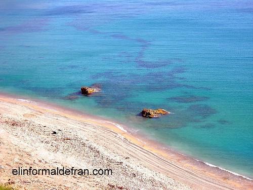 Playa Acantilados de Hocas Coloradas