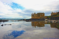 Somewhere beyond the Sea....... (law_keven) Tags: ocean sky building castle water clouds reflections scotland atlantic forth atlanticocean linlithgow firthofforth blackness blacknesscastle cloudage explore500 castleblackness