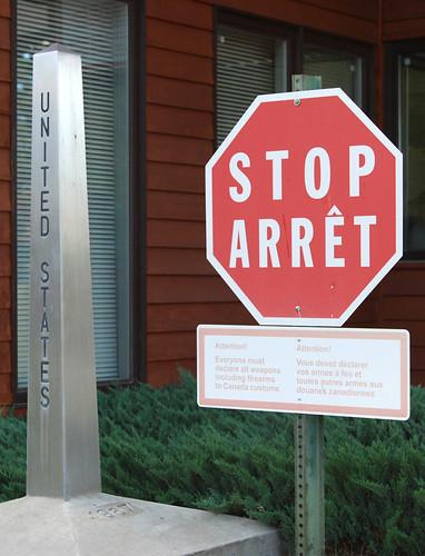 70 - United States Stop Arrêt
