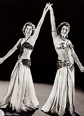 Samia Gamal & Tahia Carioca In 1958  (B)