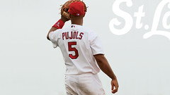 Albert Pujols (Mark Halski) Tags: baseball albert stlouis cardinals mvp mlb pujols firstbase goldglove playlikeacardinal