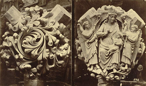 Royal Architectural Museum. Plaster Casts (Bosses) from Westminster Abbey by Cornell University Library