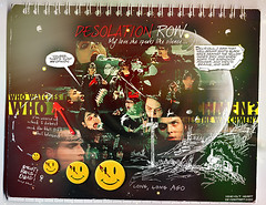Desolation Row (N de Nonoy) Tags: notebook movie blood long comic row crew cover watchmen 2009 gerard desolation mcr