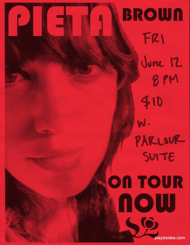 Pieta Brown Live at the Mill Iowa City Poster
