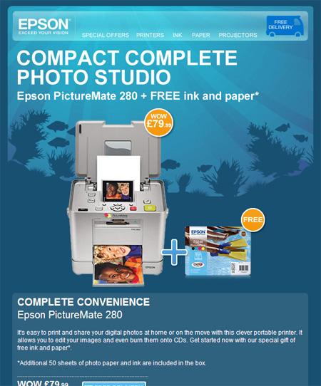 Epson Printer Email