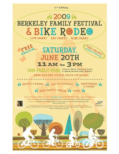 Berkeley Family Festival and Bike Rodeo