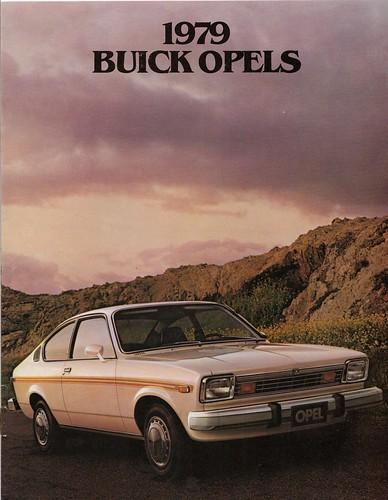 Buick's Isuzu built Opel