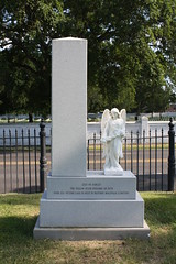 Memorial to Yellow Fever Victims (tjean314) Tags: magnolia cemetery cemetary grave tomb yellow fever epidemic memorial baton rouge batonrouge louisiana tjean314 2009 spiritofthecity johnhanley public dead death dying allphotoscopy20052017johnhanleyallrightsreservedcontactforpermissiontouse