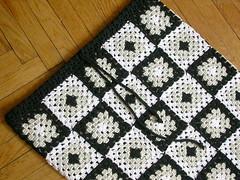 Юбка Пэчворк - Granny squares skirt
