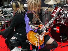 DARK SCHNEIDER Visual Rock Japan music (alainalele) Tags: paris france rock japan de french la internet creative commons pop bienvenue fte 75 jrock 2009 licence musique presse bloggeur paternit visualkey lede