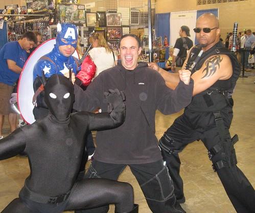 Primal Scream, Captain America,