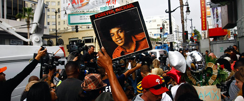 Fanáticos muerte de Michael Jackson