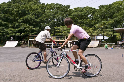 tokyo hardcourt bike polo 1st meetup