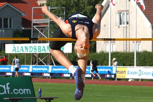 2009 NatWest Island Games - Mens High Jump