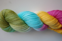 """Splash"" sport weight merino ~4 oz~ *25% off sale*"