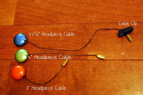 Headpiece Cables