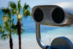 Lonesome cowboy (olemartin) Tags: robot view binoculars lagunabeach canonefs1855mmf3556