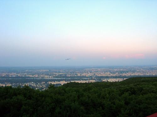 Budapest from Hármashatárhegy 1