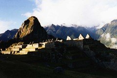 Machu Picchu in the evening