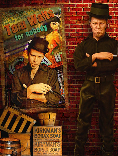 Tom Waits in New York 12 inch Action Figure | Tom Waits is a… | Flickr