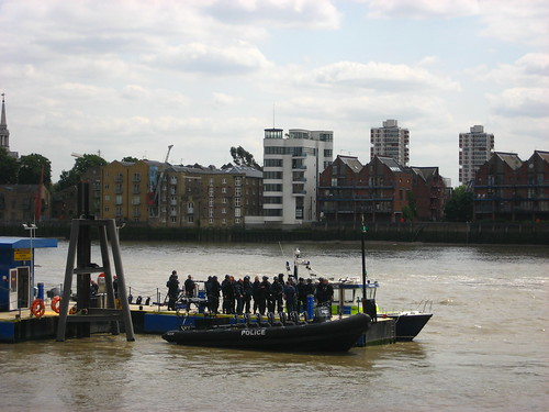 Armed river police