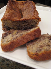 banana walnut bread with chocolate 'babka' swirl (epic_stl) Tags: bread chocolate banana parve