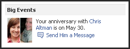 Anniversary Reminder
