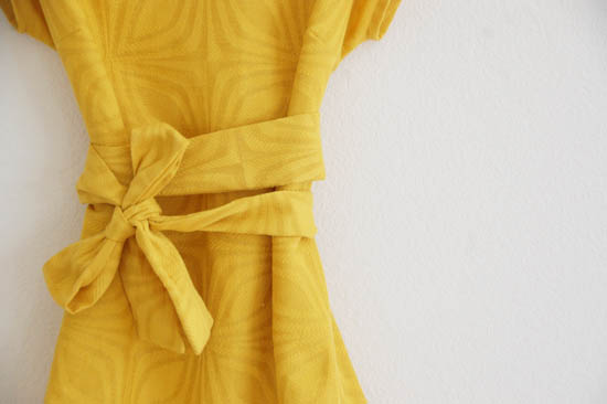 my yellow dress