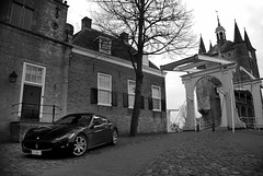 Maserati GranTurismo S (Robin Kiewiet) Tags: show old italy history cars car sport buildings photography italian nikon photoshoot martin geneva fiat very corse group fast grand zeeland s automotive ferrari architectural mc architect exotic alfa romeo historical motor 12 polarizer 2008 loud 2009 coupe v8 maserati aston 47 coup volante zierikzee granturismo pininfarina v12 db9 quattroporte tourer polarised 8c gransport fiorano competizione 599gtb d80 18105vr 440bhp