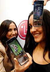 투명 키패드 터치폰 (LG-GD900)