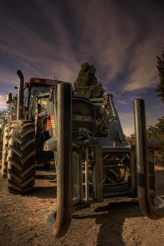 Tractor - by Michael Scott