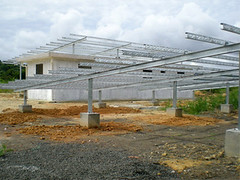 Solar Frame Construction
