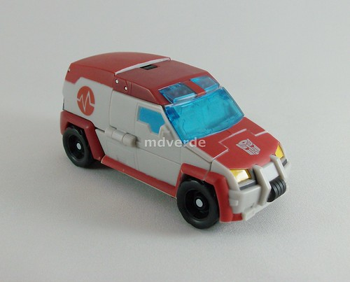 Transformers Ratchet Animated Deluxe - modo alterno