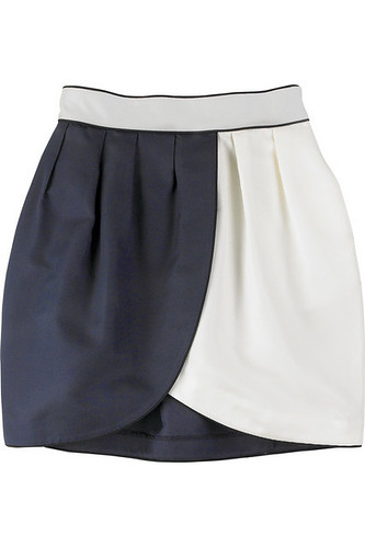 thread social two tone tulip skirt by carbonated.