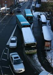 Cawsey Way, Woking (ƒliçkrwåy) Tags: winter snow bus woking carpark dart toysrus enviro arriva countryliner cawseyway t314smv
