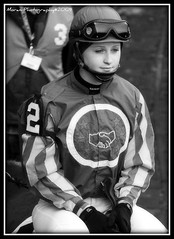 "Anna ""Rosie"" Napravnik (EASY GOER) Tags: horses bw horse sports animals female racetrack digital canon track rosie racing jockeys jockey athletes races thoroughbred tb equine thoroughbreds equines nyra tbracing annanapravnik"