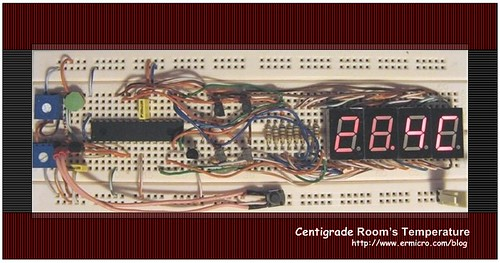 Seven Segment Display Thermometer with PIC Microcontroller (3)