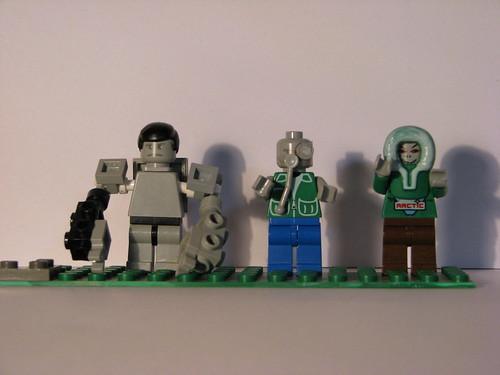 Left 4 Dead Lego Super Zombie custom minifigs