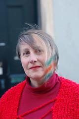 grey hair with rainbow colors (wip-hairport) Tags: haircut colors hair rainbow with lisbon gray bob wip hairport
