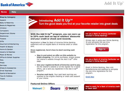 Add it Up-Bank of America