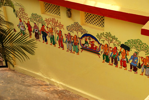 Pata Chitra on Wall