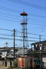 鶴ヶ岡の火の見櫓(ふじみ野市)