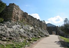 Lion Gate, Mycenae (Sharon Mollerus) Tags: unescoworldheritagesite greece acropolis liongate mycenae cyclopean 1350bc