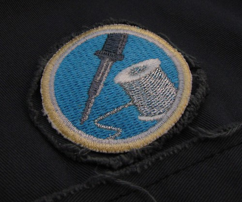 Soldering merit badge from Adafruit Industries